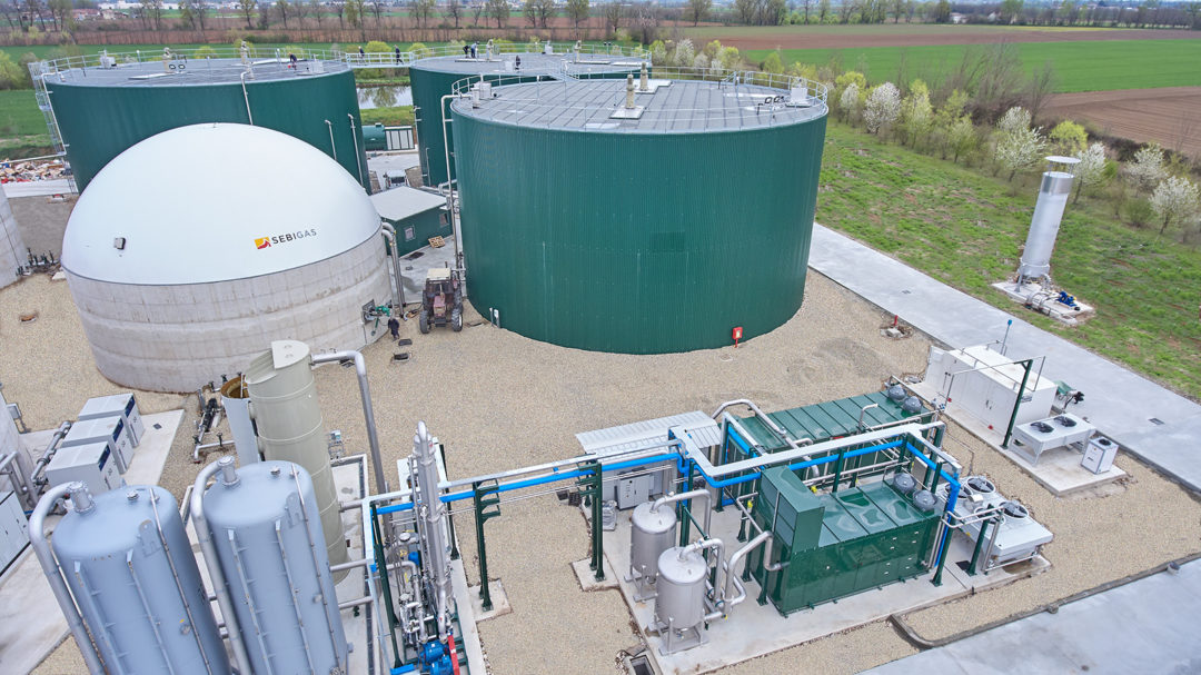SEBIGAS srl AND MASERATI srl BIOMETHANE PRODUCTION PLANT IS IN OPERATION: IT WILL INJECT OVER 5.000.000 Sm3 OF BIOMENTHANE IN THE NATIONAL GRID FOR TRANSPORT EVERY YEAR 🗺