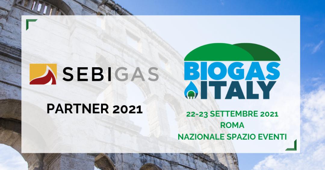 SEBIGAS A BIOGAS ITALY 2021 🗓 🗺